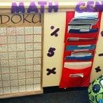 4th grade math center area