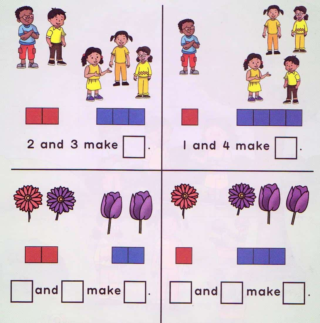 Number Bonds – Singapore Maths Worksheets