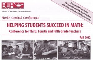 Helping Students Succeed in Math: Conference for Third, Fourth and Fifth Grade Teachers