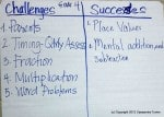 Grade 4 challenges & successes with Singapore math