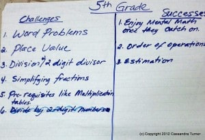Grade 5 challenges & successes with Singapore math