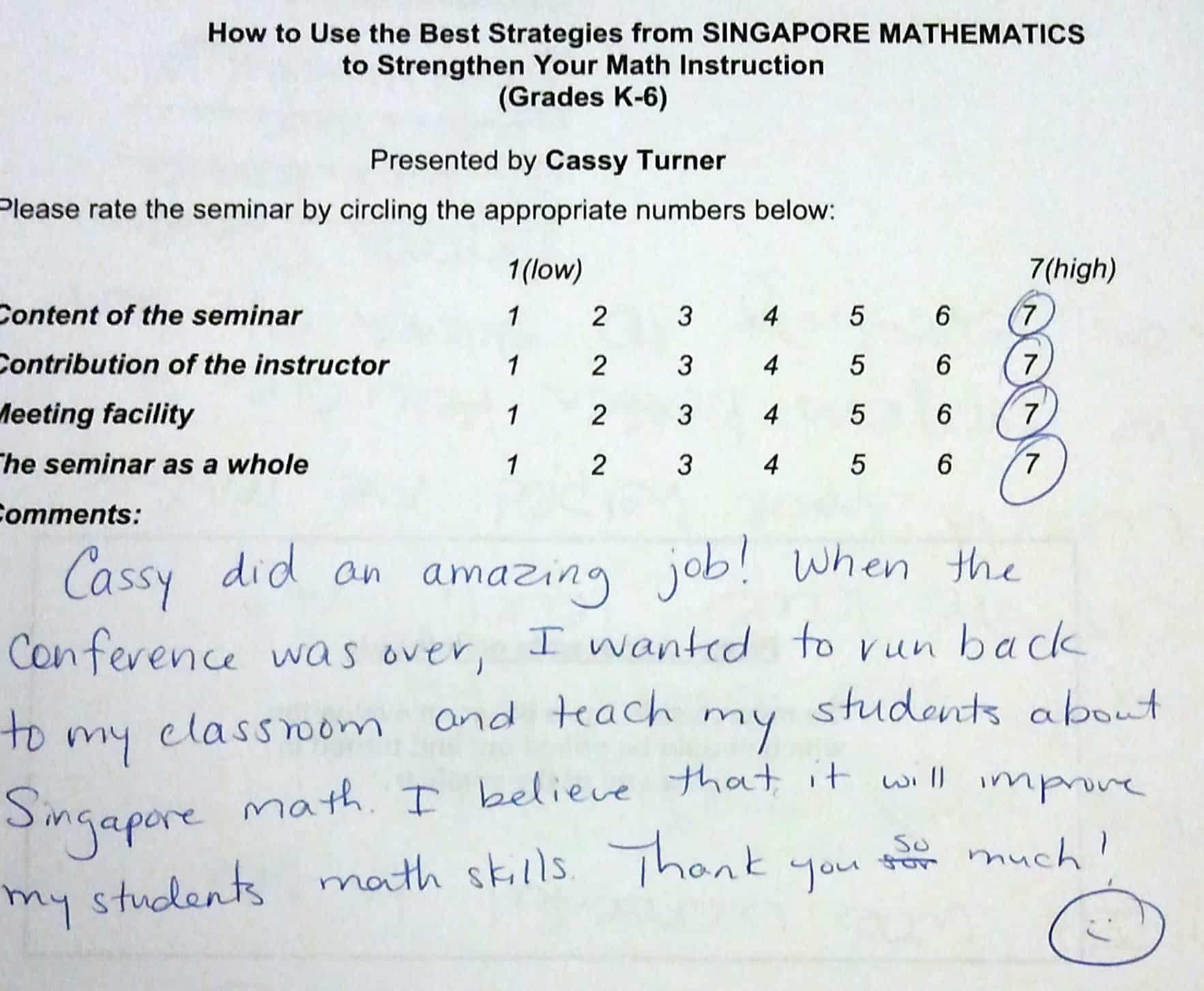Best Strategies From Singapore Math Ber Evaluation Singaporemathsource