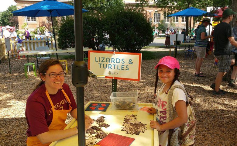 Math On-A-Stick: Lizards