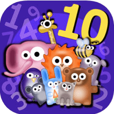 Number Bonds Memorizer - Learn addition & subtraction fact families up to 10 with math memory game f